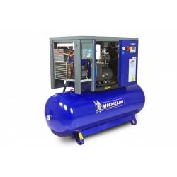 Compresor cu șurub Michelin de 500 litri,  20 CP, cu uscător RSXD 20/500