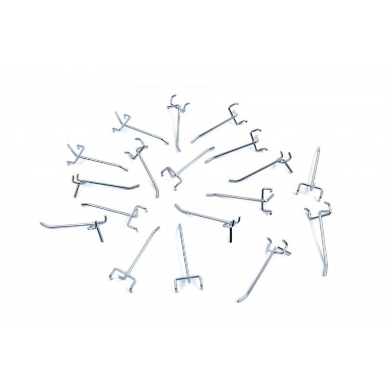 Set carlige ancorare  25mm, 18p - HBM 9752