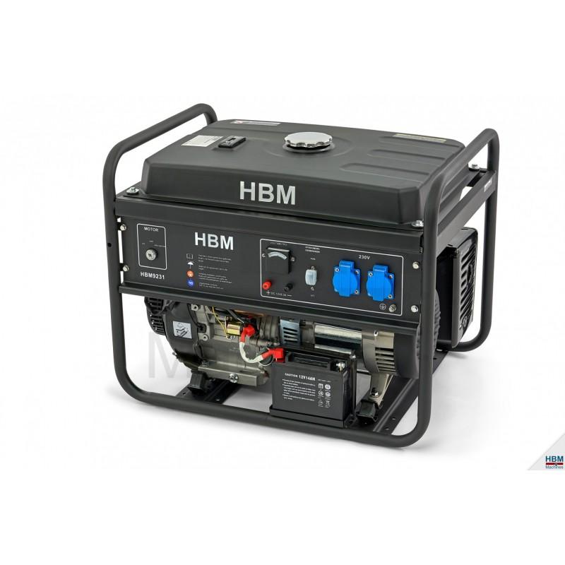 Generator cu benzina 5500W - HBM 9231