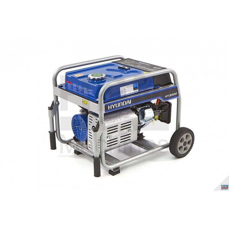 Generator cu benzina 6.5 CP  - Hyundai 55021FHKD
