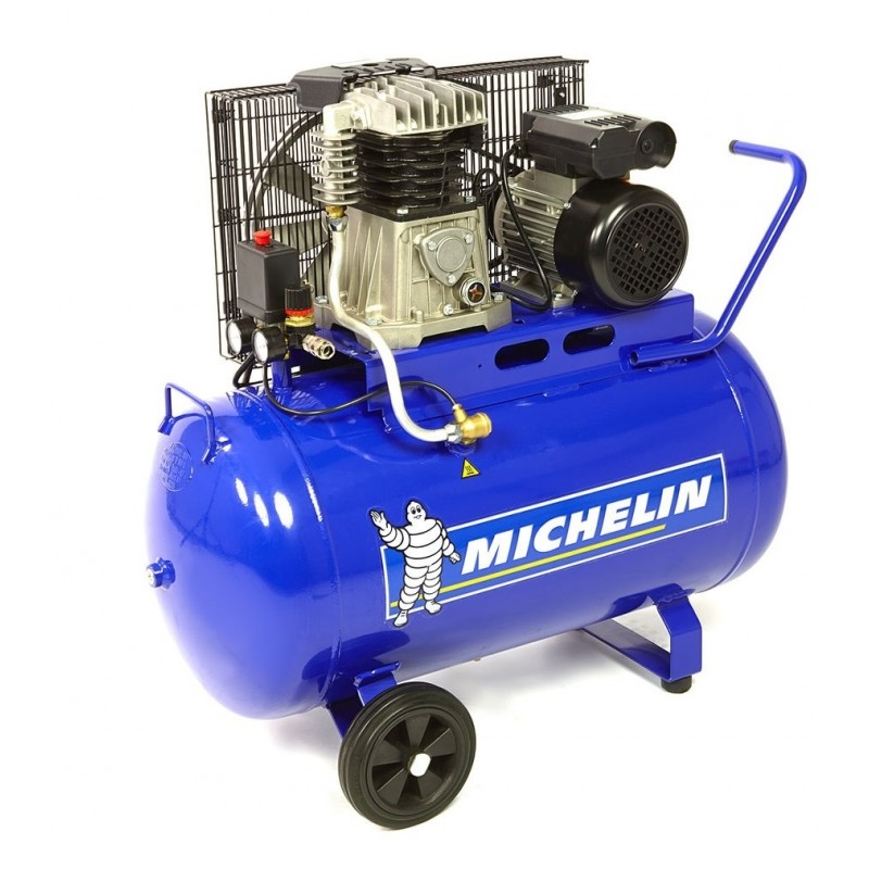 Compresor 100L Michelin, 3HP 230V