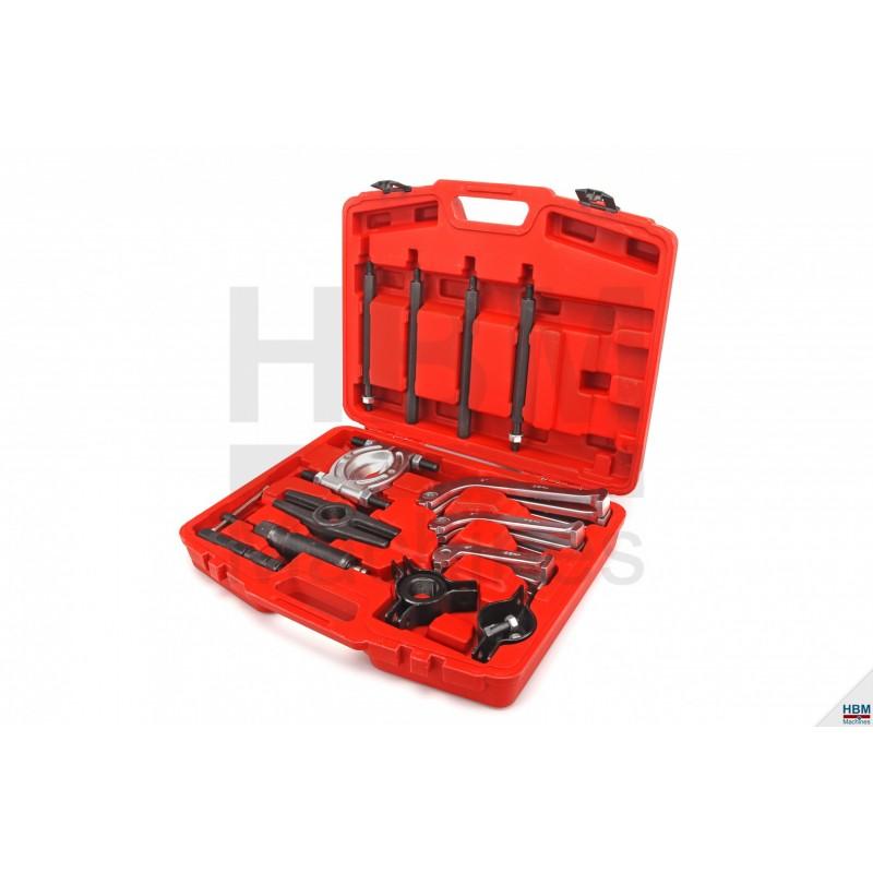Trusa extractor hidraulic rulmenti, 23 piese - H3467
