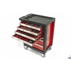 Carucior scule 154piese Premium ROSU - H9407