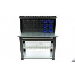 Banc de lucru metalic cu sertar 137cm - HBM 9747