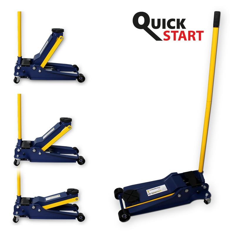 Cric hidraulic 3T, ridicare rapida  - Normex 22-300