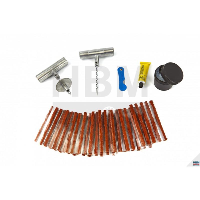 Trusa reparat anvelope 57 piese - H7510