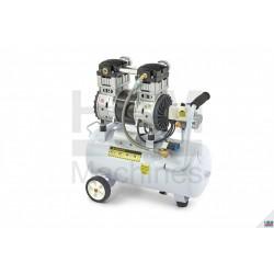 Compresor silentios 30 L , 1.5 Cp  - HBM 9272