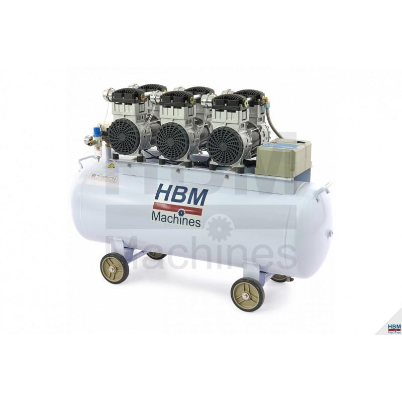 Compresor profesional Silentios 150L, 6 HP - H9700