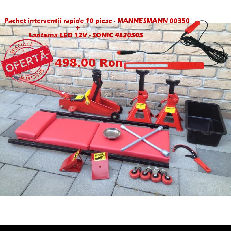 Pachet interventii rapide 10 piese -  Mannesmann 00350