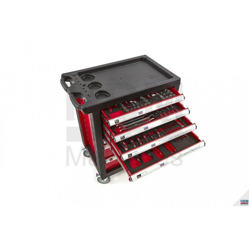 Carucior scule 154 piese -  HBM 9002
