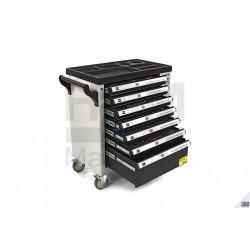 Carucior / Dulap scule 245 piese, 7 sertare - HBM 6792