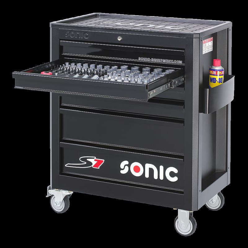 Banc de scule echipat 138 piese Sonic 713840