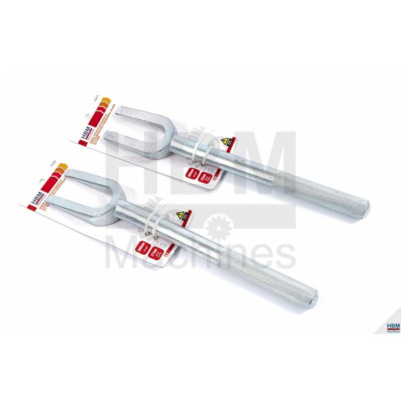 Levier cap de bara/rotule de articulatii 27 mm HBM 7472