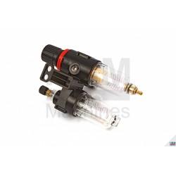 Filtru umiditate cu manomentru presiune si recipient pentru ungere HBM 8645