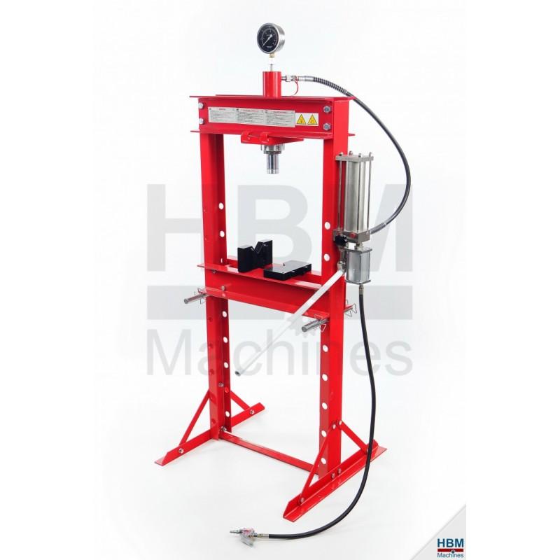 Presa 20 TONE hidro-pneumatica HBM 01818