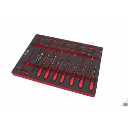 Dulap scule 283 piese HBM3501